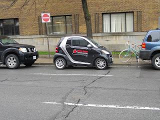 SmartCar enviornmentally friendly watershed  rain management Toronto