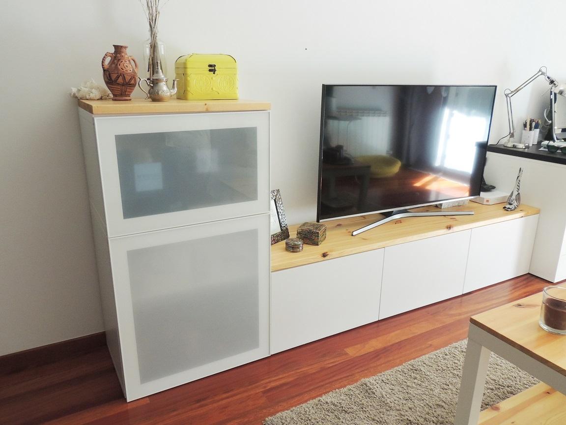 Mueble Tv Ikea Blanco Mueble De Tv Besta De Ikea With Mueble Tv  # Muebles Pecera Ikea