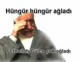 Fethullah Gülen hüngür hüngür ağladı çok ağladı