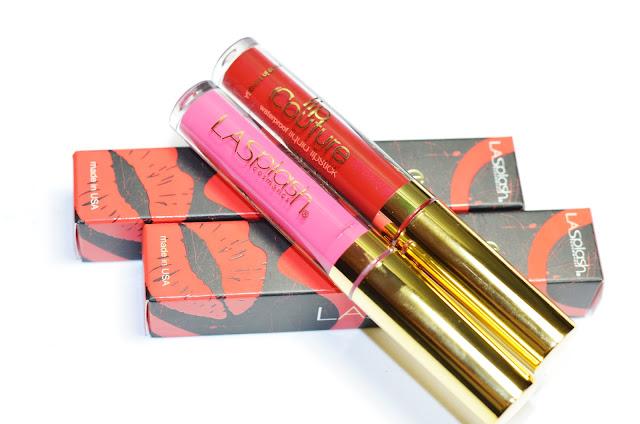 LA Splash   Lip Couture   Lollipop, Poison apple
