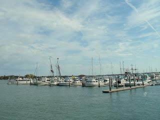 Embarcaderos en la bahía de San Agustín