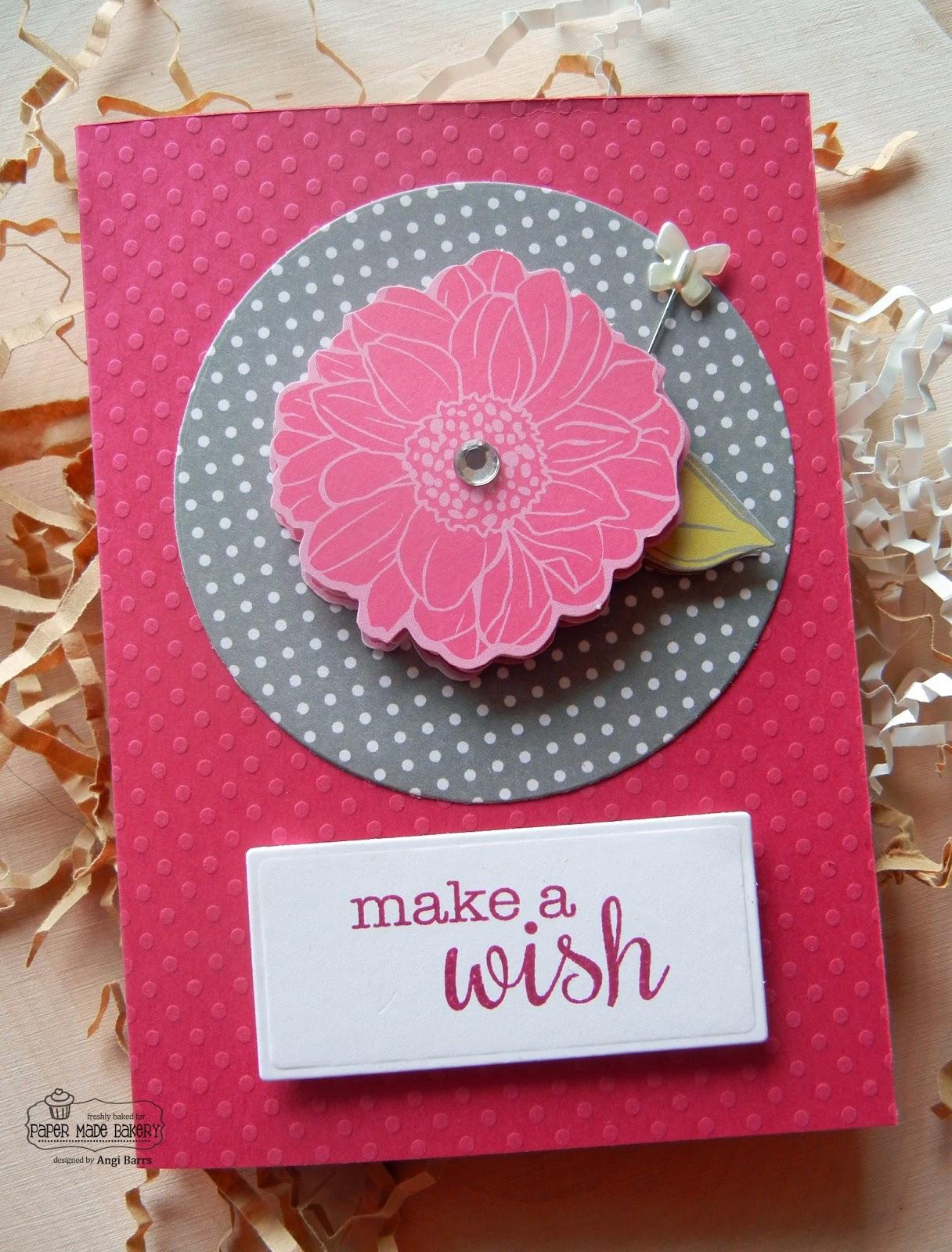 Paper made bakery girly birthday cards girly birthday cards izmirmasajfo