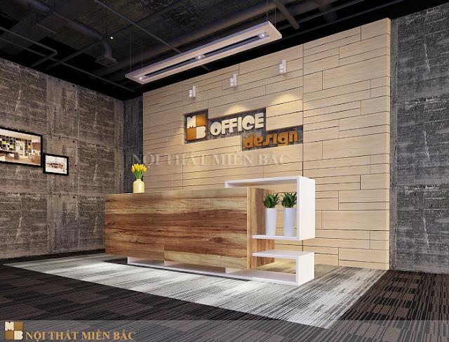 Thiết kế văn phòng Hà Nội với không gian xanh thật tinh tế - H1