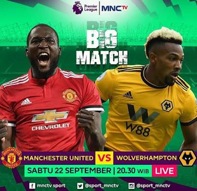 Jadwal Siaran Langsung Manchester United vs Wolverhampton MNCTV