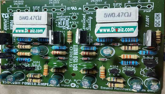 Cara BTL Power Amplifier 150 Watt Hanya Pakai 1 Resistor