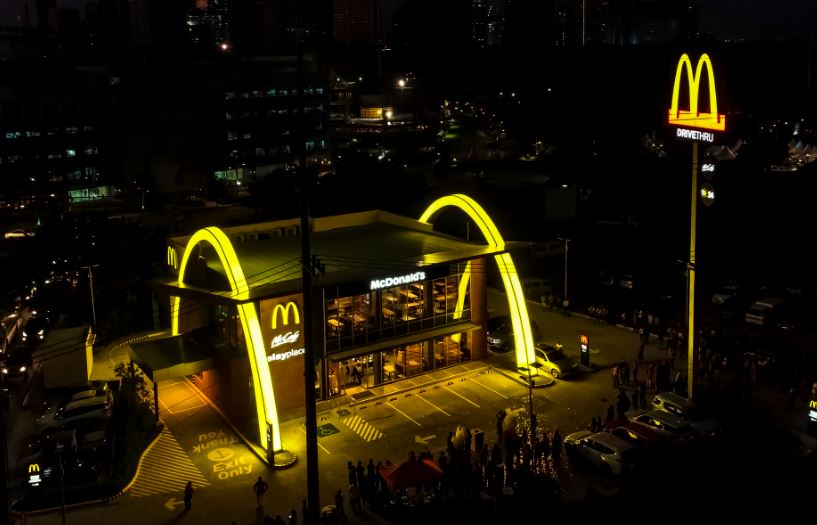 McDonald's NXTGEN store at McKinley West in Bonifacio Global City.