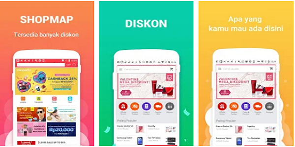 Cara Mendapatkan Pulsa Gratis dari Aplikasi Shopmap