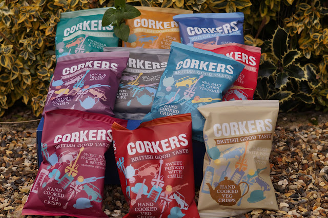 Corkers crisps review