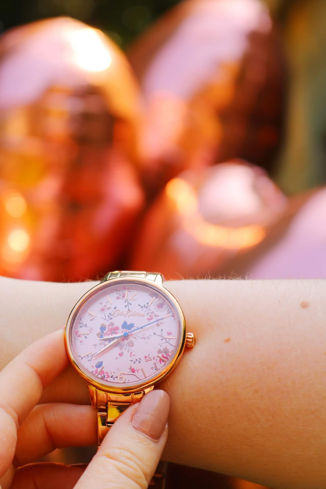 Cath Kidston Rose Gold Watch ft. First Class Watches