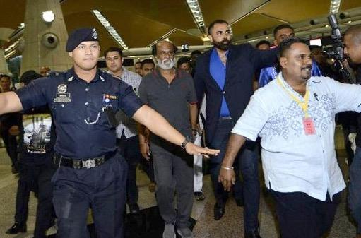 100 Pengawal peribadi Rajinikanth di Malaysia