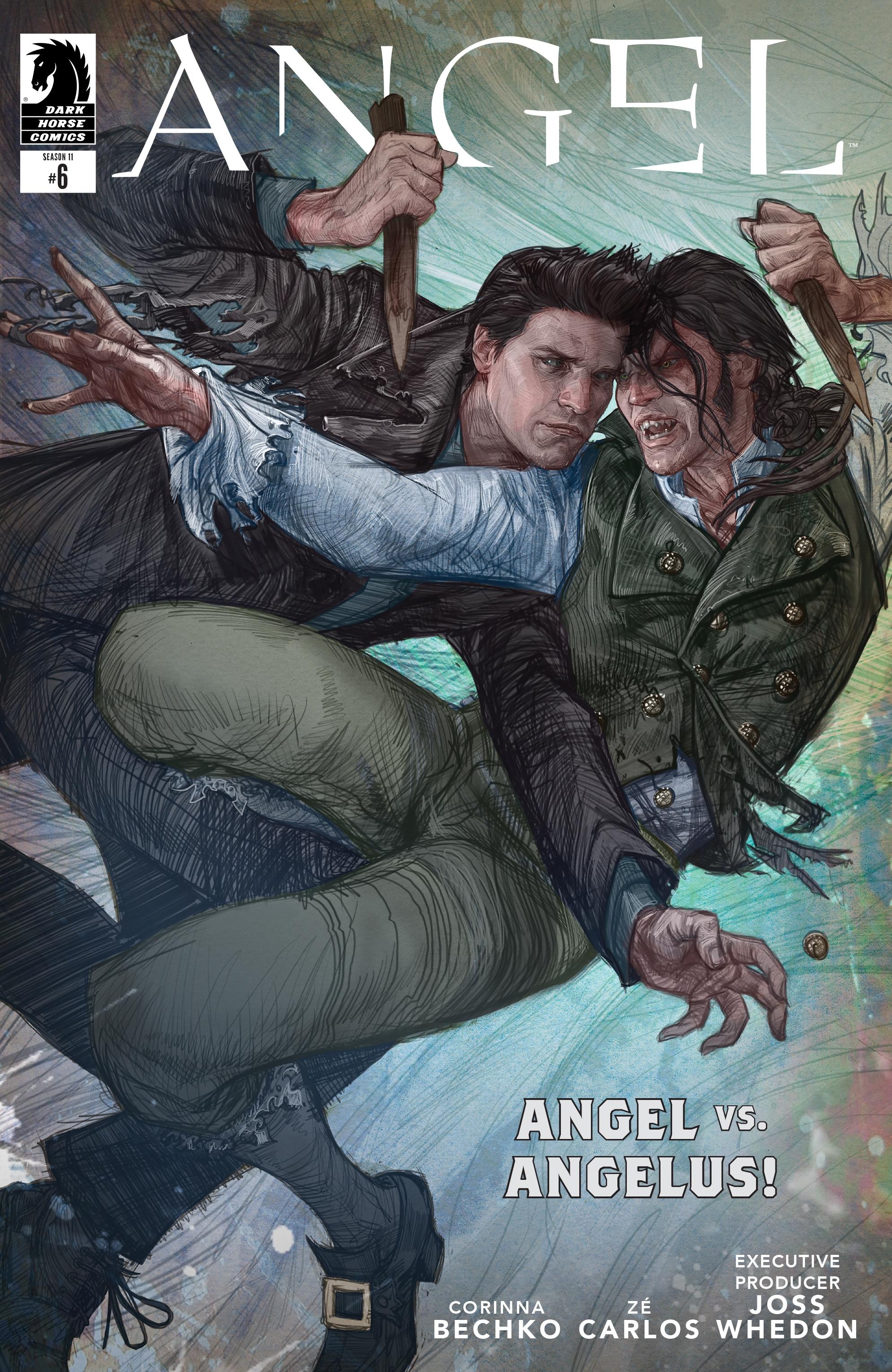 Read online Angel Season 11 comic -  Issue #6 - 1