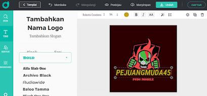 Cara Buat Logo Gaming Secara Online di PC