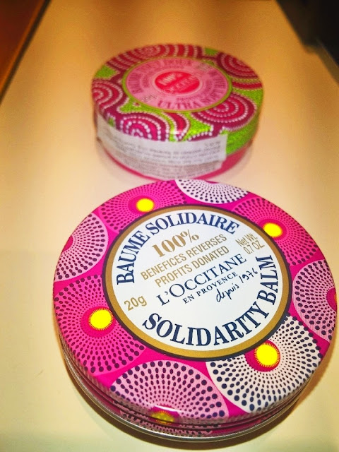 L'occitane solidarity balm