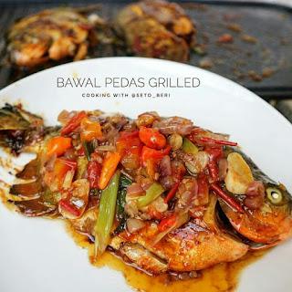 Ide Resep Masak Ikan Bawal Pedas Grilled