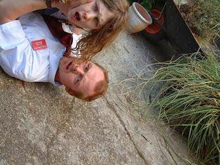 Shaun of the Dead: la foto sviluppata dal rullino usato da Ed sul set