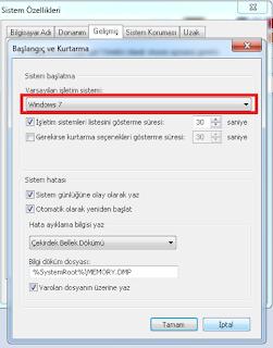 An Operating System Wasn't Found hatası Çözümü Windows7