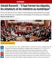 http://www.lepoint.fr/technologie/gerald-karsenti-il-faut-former-les-deputes-les-senateurs-et-les-ministres-au-numerique-28-01-2014-1785031_58.php