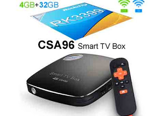 Android Tv Box CSA96 RK3399 - 4GB RAM 32GB ROM
