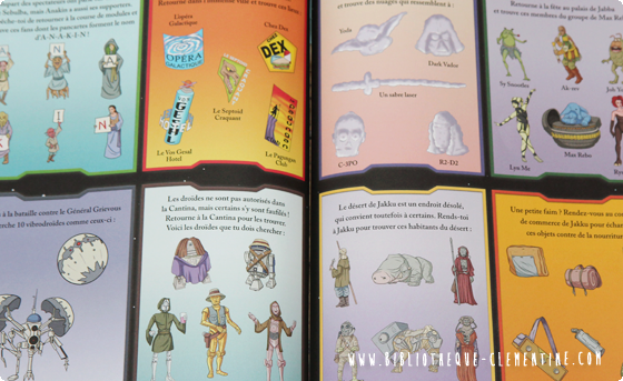 La Bibliotheque De Clementine Cherche Et Trouve Star Wars