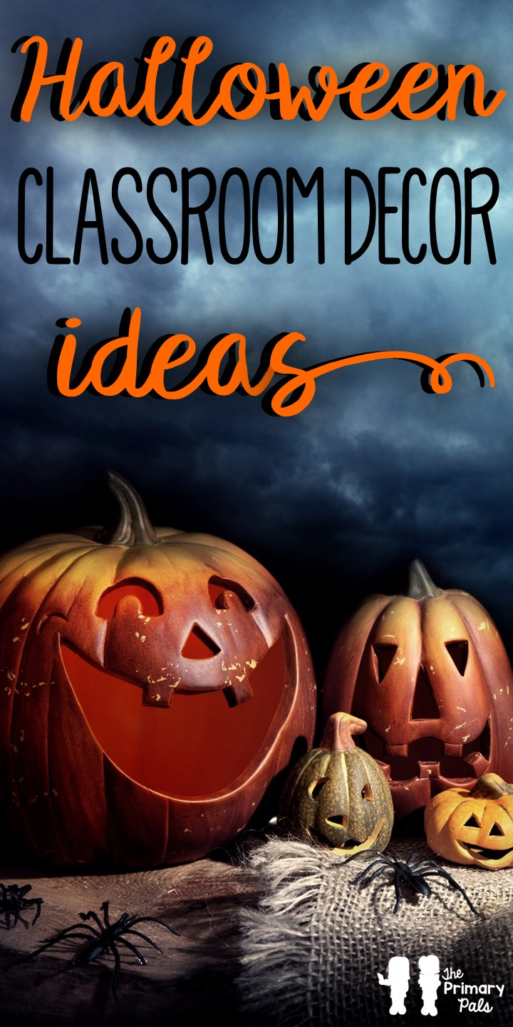 As October comes to a close, your students are probably excited about Halloween. Who doesn't love free candy? Create an inviting, spooktacular environment with these fun Halloween classroom decor ideas!