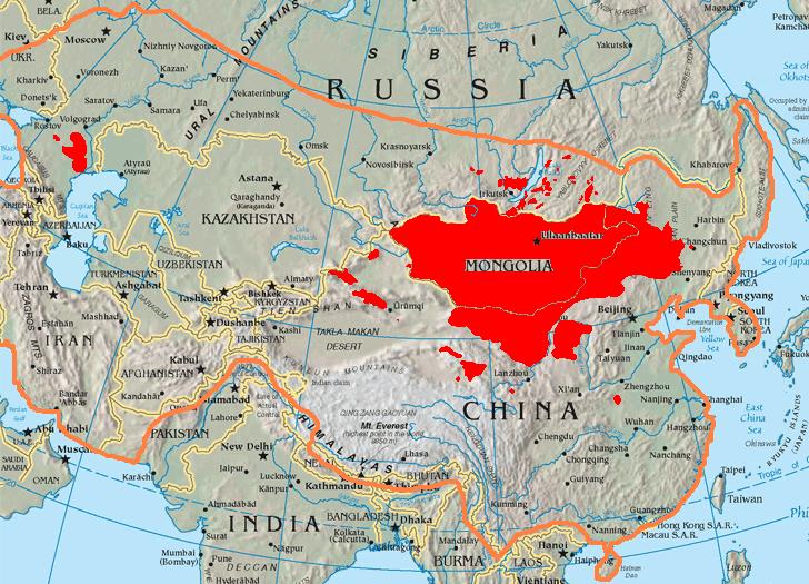 Mongols   Mongol Conquest Land