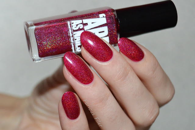 'ard as nails swatch holo holographic polish sparkle