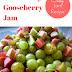 Rhubarb and Gooseberry Jam Recipe