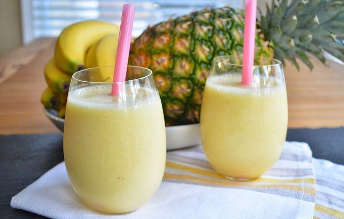 Mix jus nanas buah pisang untuk diabetes mellitus dan TBC