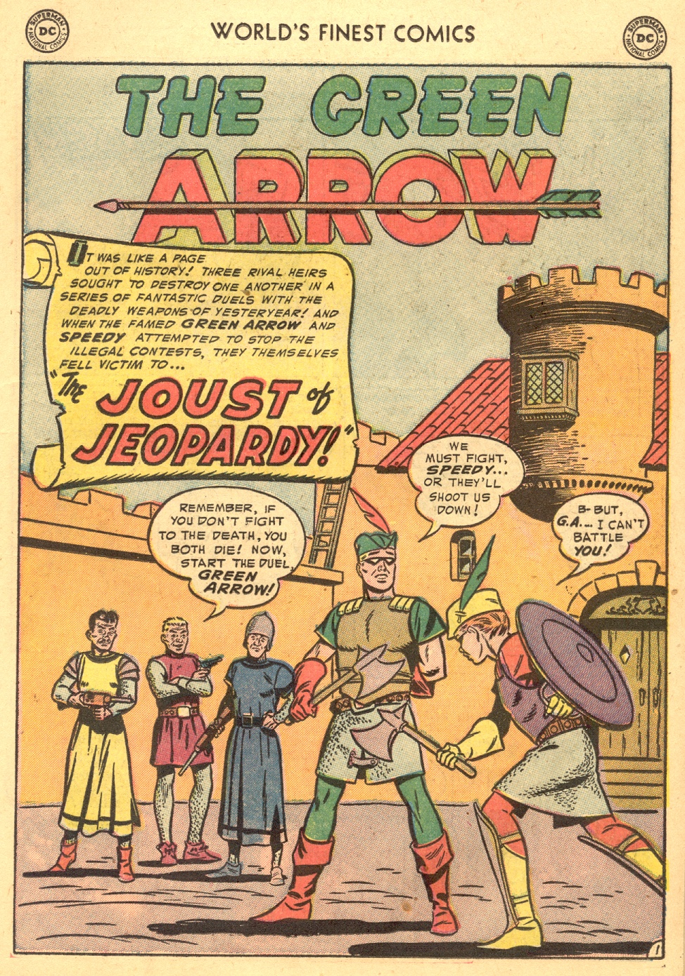 Read online World's Finest Comics comic -  Issue #70 - 21