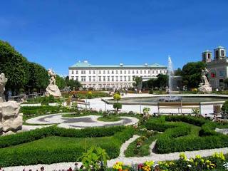 Mirabell Gardens Schloss Palace Salzburg Austria