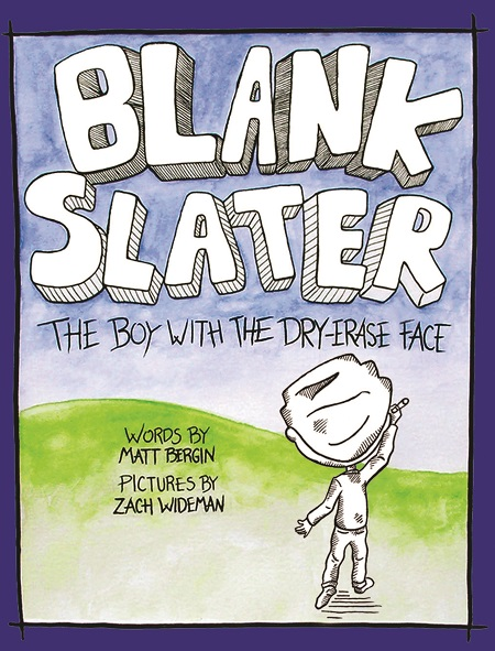 Blank Slater front cover by Zach Wideman