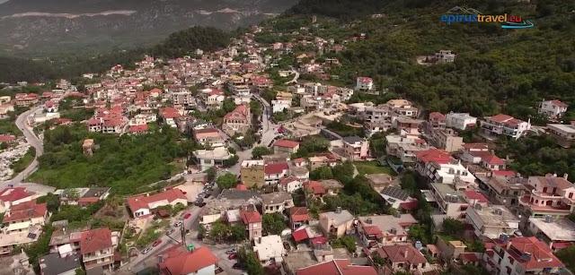 Πτήση με drone πάνω από την πόλη της Παραμυθιάς (ΒΙΝΤΕΟ)