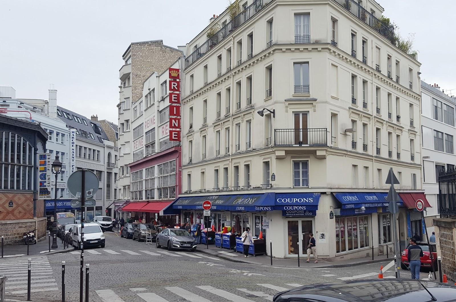 Stoffe kaufen in paris - Place saint pierre paris ...