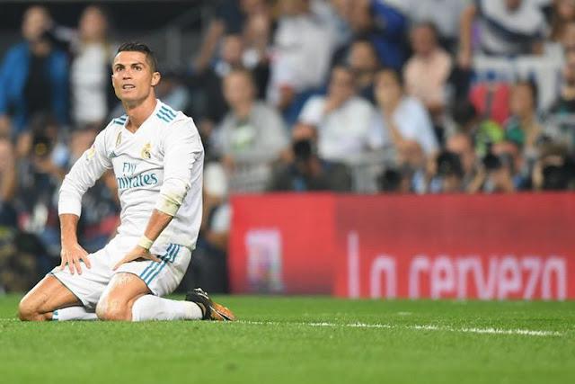 Ronaldo Tetap Santai meski Real Madrid Dilibas 1-3