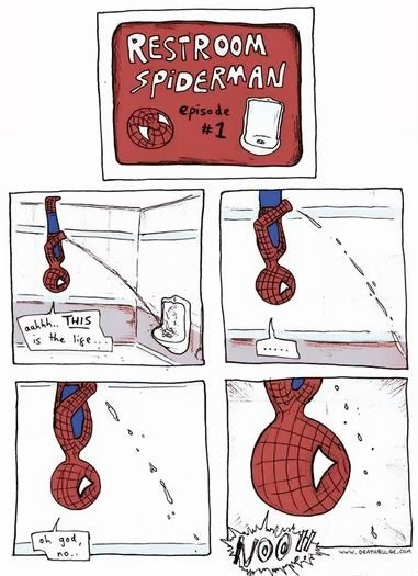 Funny Spiderman Cartoon