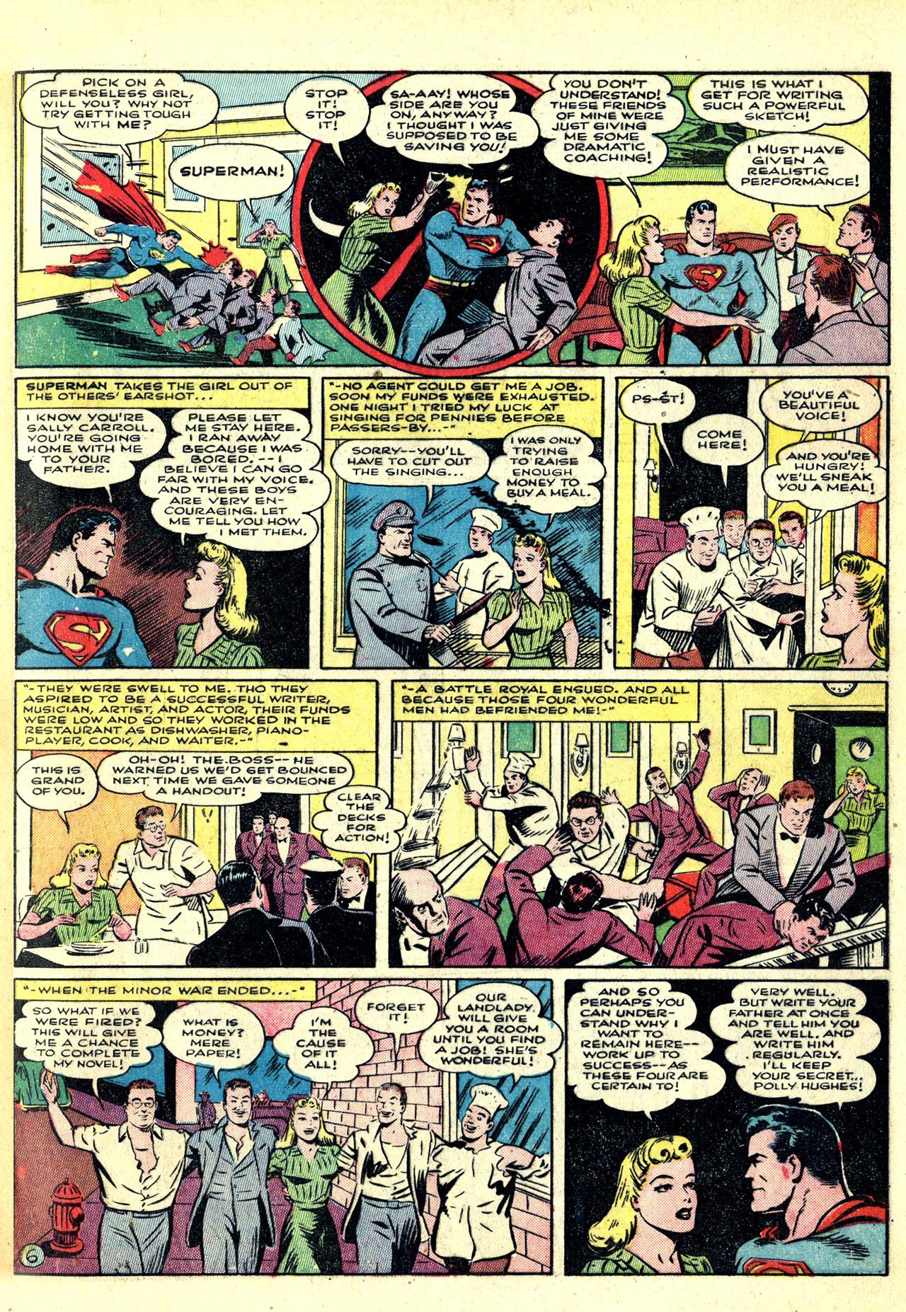 Read online World's Finest Comics comic -  Issue #8 - 9