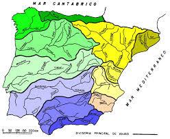 Cuencas hidrograficas Peninsulares