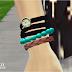 strap watch with bracelet_스트랩 시계팔찌_남녀 악세사리