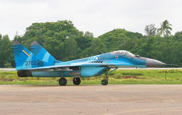 Pesawat tempur Angkatan Udara Myanmar hilang saat latihan