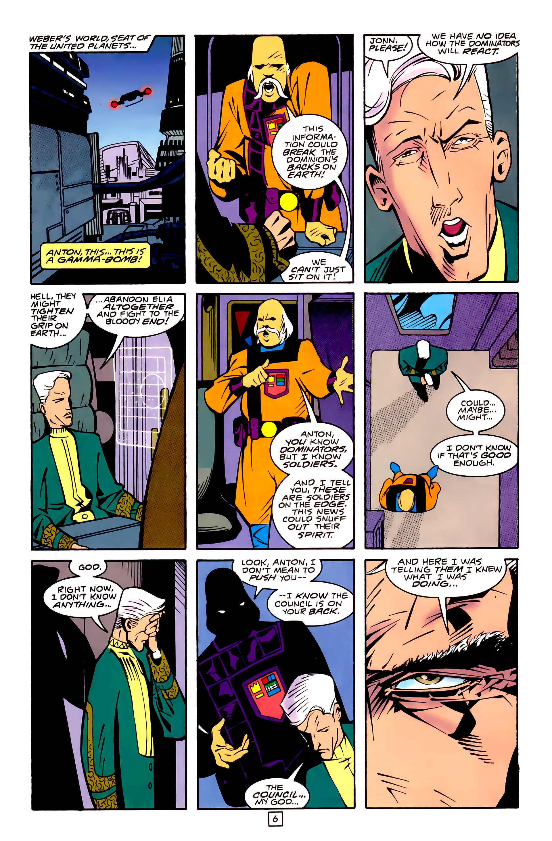 Legion of Super-Heroes (1989) 32 Page 6