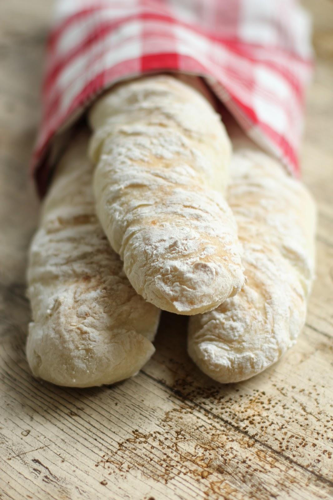 glutenfria baguetter recept