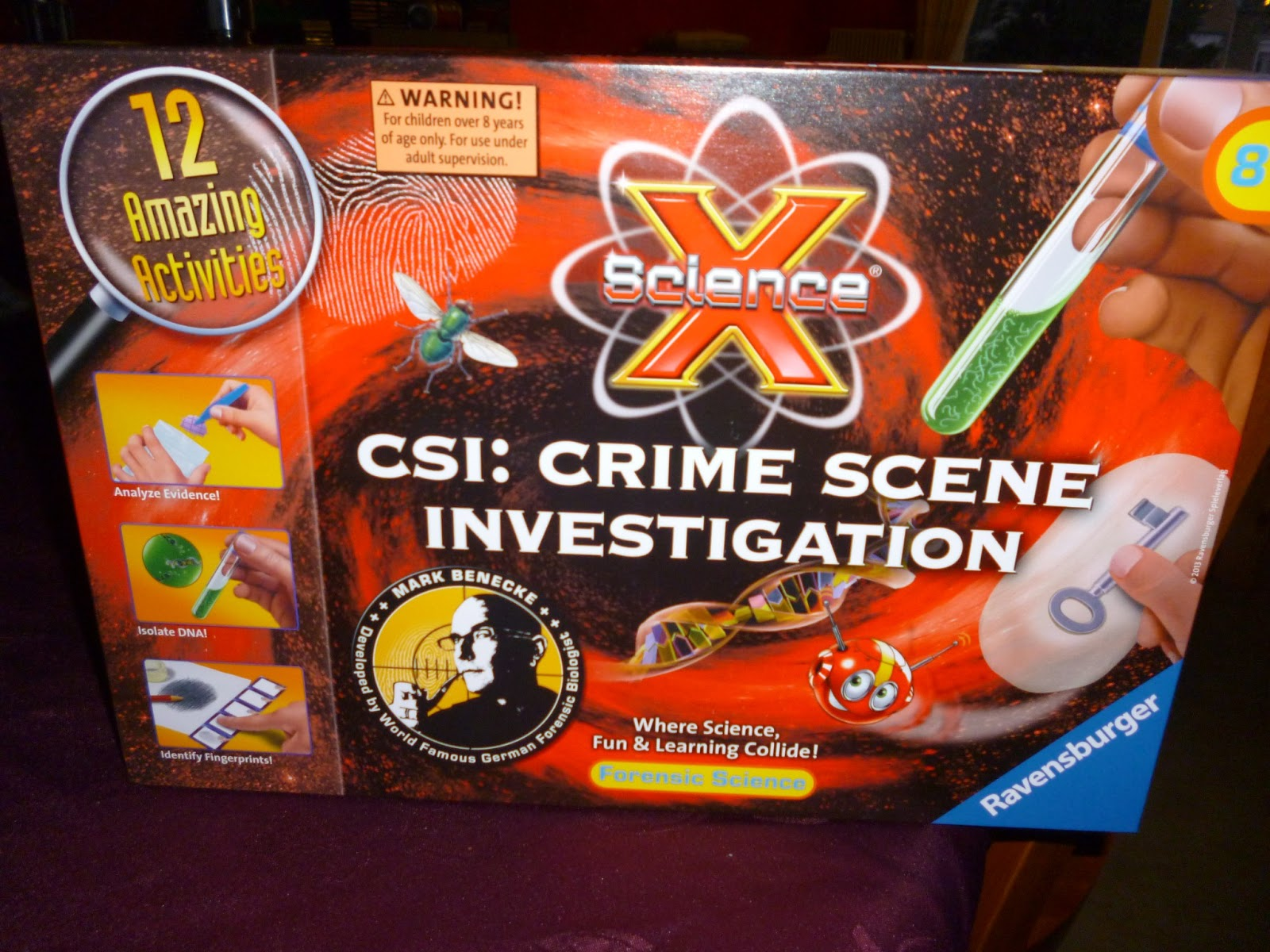Madhouse Family Reviews: Science X CSI : Crime Scene Investigation