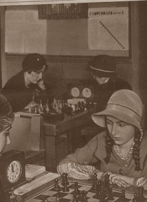 Partida de ajedrez Sofía Ruiz vs. Teresa Gosé, Barcelona 1932