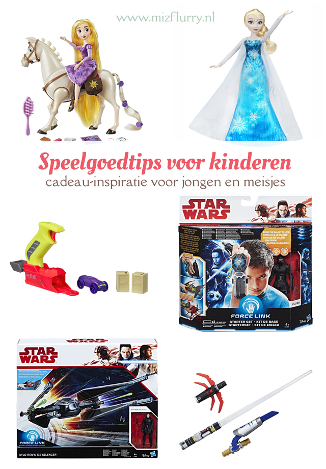 Review en unboxing kinderfilmpjes op YouTube van Star Wars Bladebuilders en Force link, Elsa met pianojurk, Transformers All Spark Tech, Rapunzel en Maxius en Nerf Nitro