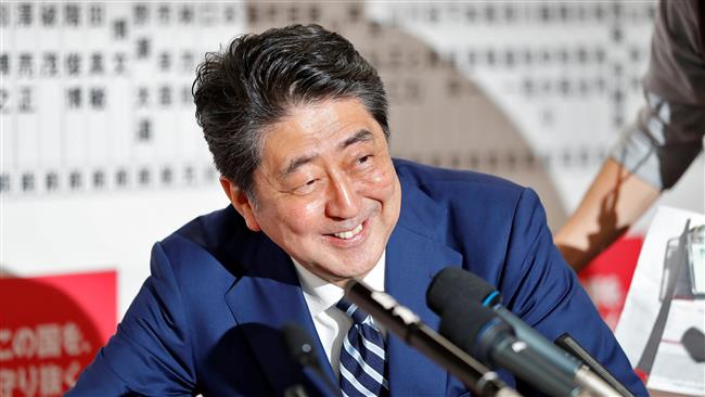 Japanese Prime Minister Shinzo Abe's Liberal Democratic Party set to win by landslide in Japan snap elections