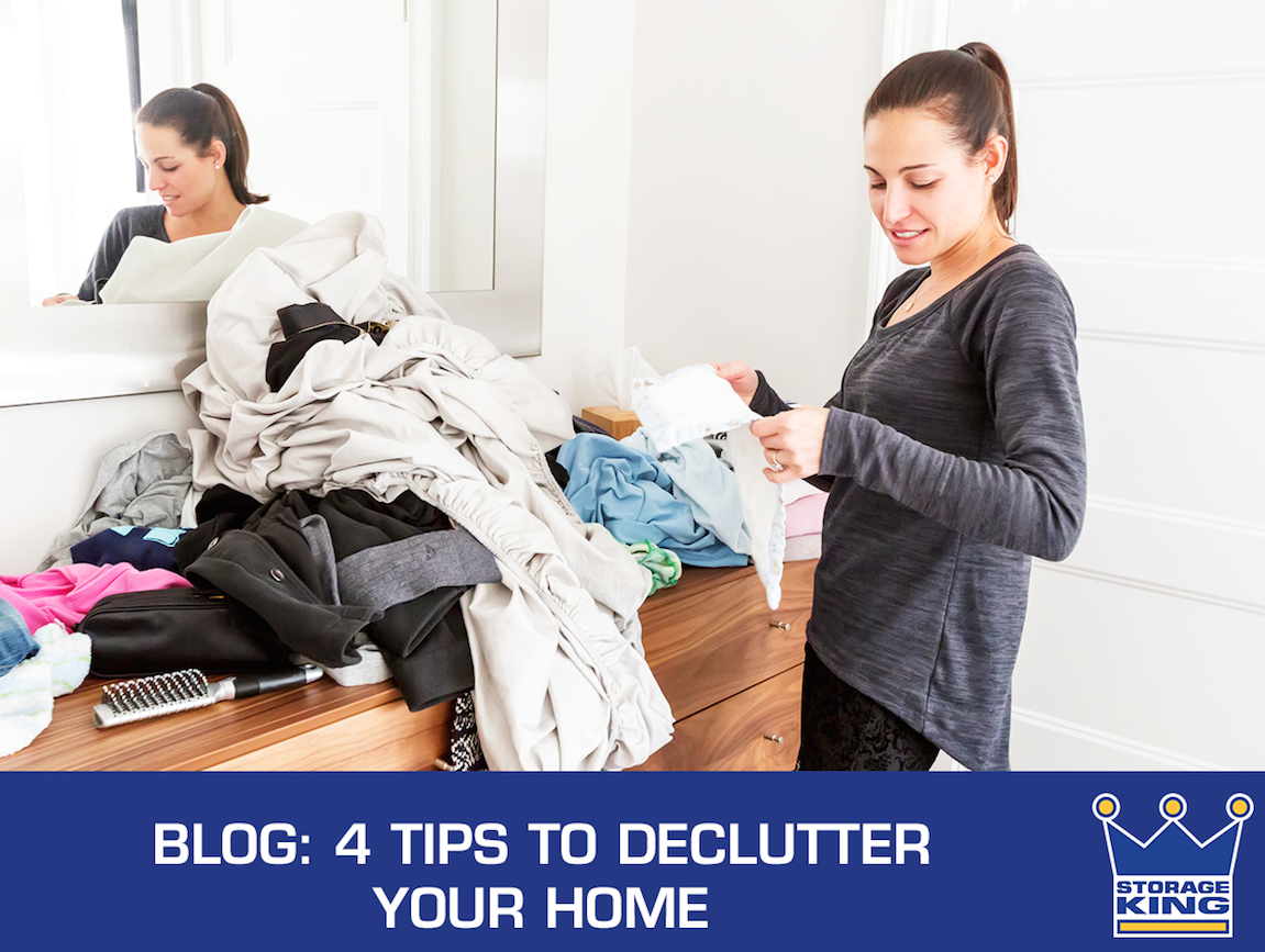 Storage king blog 4 tips to declutter your home in 2017 for Declutter house plan