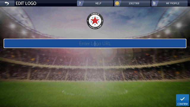 mengubah logo dream league soccer terbaru