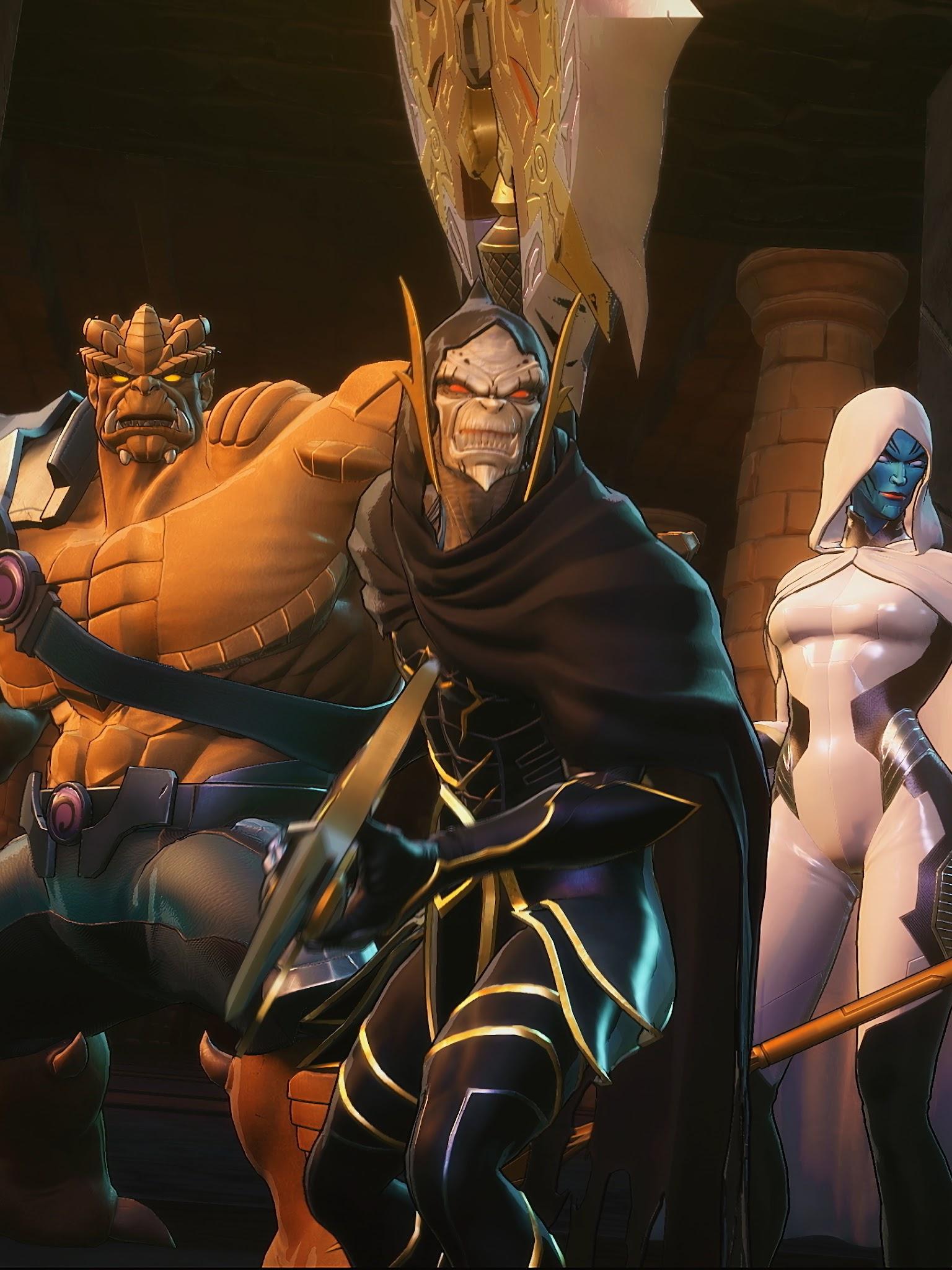 Marvel Ultimate Alliance 3 The Black Order Villains 4K