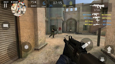 لعبة Forward Assault للاندرويد, لعبة Forward Assault مهكرة, لعبة Forward Assault للاندرويد مهكرة