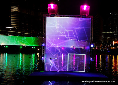The Dubai Fountain Laser